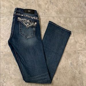 MISS ME JEANS- BOOTCUT SIZE 26